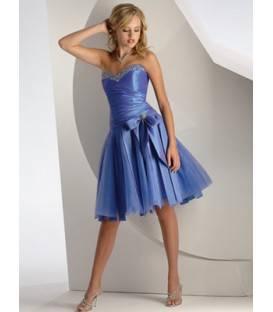 Krátke korzetové spoločenské šaty 0144